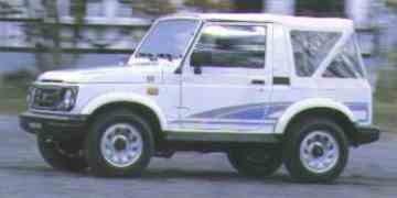 Suzuki Samurai, Suzuki Vitara